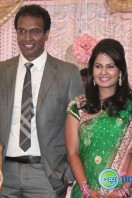 Arun Pandian Daughter Marriage Reception Photos