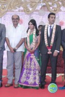 Arun Pandian Daughter Marriage Reception Stills (7)