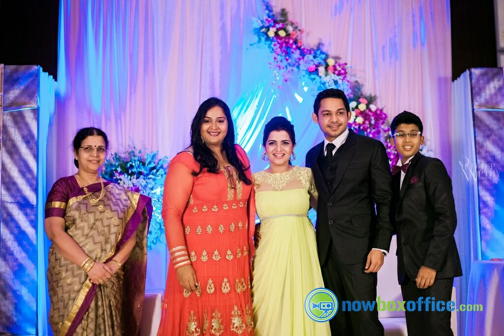 Divyadarshini Wedding Reception Stills DD Srikanth Wedding Reception Photos 16 Nowboxoffice