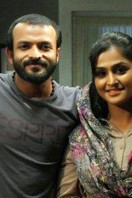 Jayasurya and Remya Nambeesan in Luka Chuppi movie