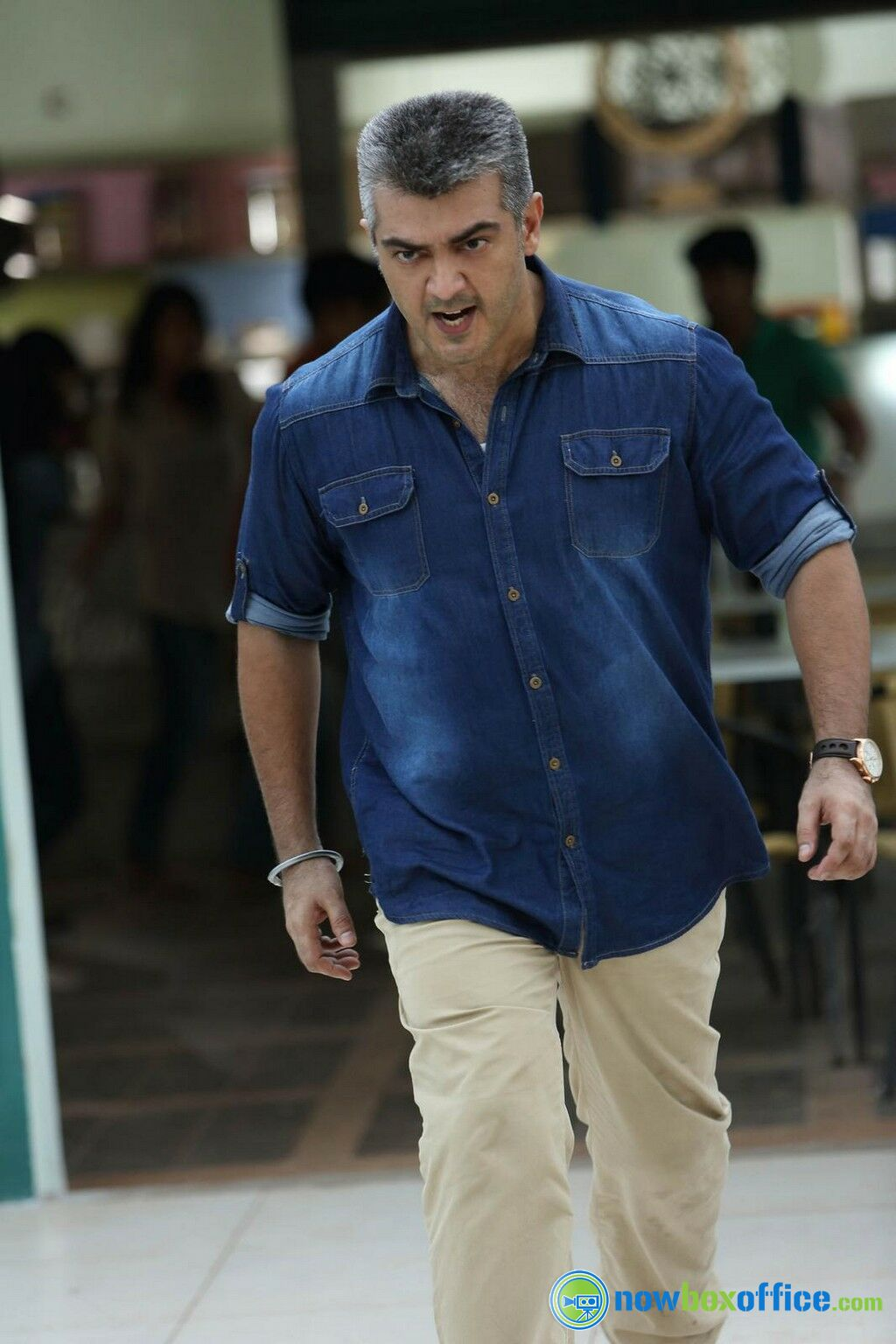 Ajith Kumar Latest Stills Ajith Kumar in Yenthavaadu Gaani ...