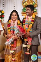 Priyan Daughter Marriage Reception Stills