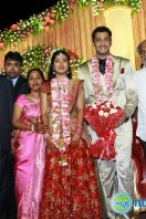 Arulnithi Wedding Reception Photos