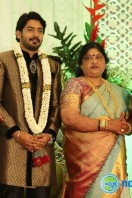 Prajwal Devaraj Marriage Reception Stills