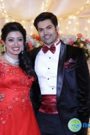 Ganesh Venkatram & Nisha Wedding Reception Stills