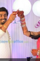 Sruthi Lakshmi Marriage Reception Stills