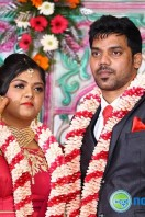 Vasu Vikram Daughter Vasugi Wedding Reception Photos